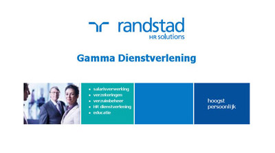 Homepage van gamma.nl