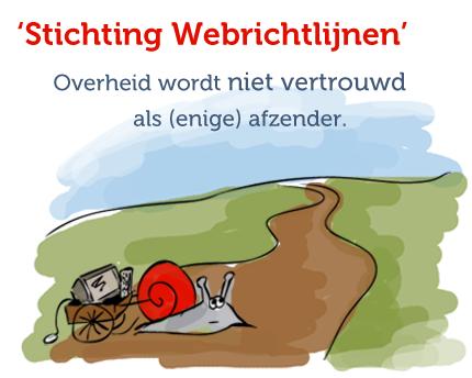 Andere afzender: Stichting Webrichtlijnen