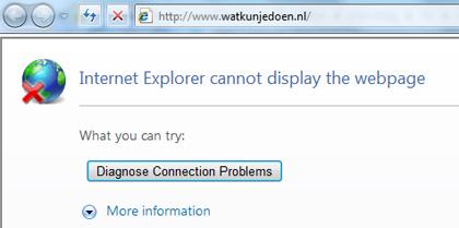 Watkunjedoen.nl levert een 404 foutmelding op.