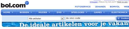 Zoekfunctie op Bol.com