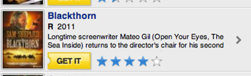 Truncation op Blockbuster.com