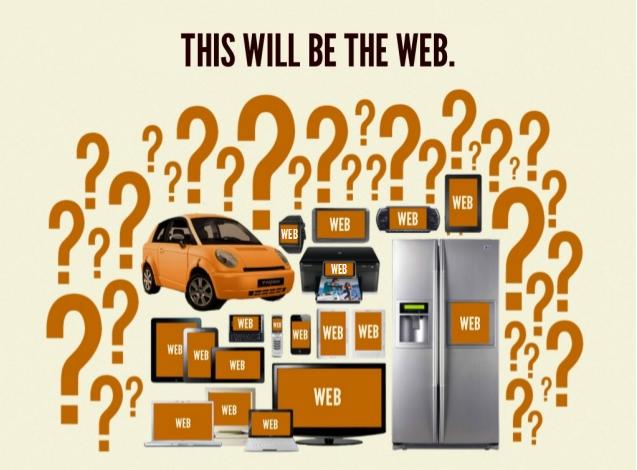 In de toekomst zal het aantal touchpoints en user agents voor het web nog veel groter zijn.